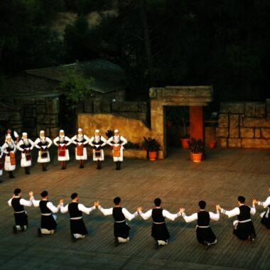 danses traditionnelles grecques athenes dora stratou