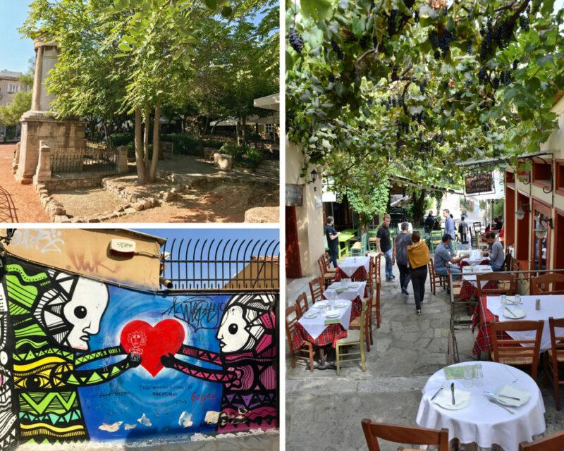 Visiter le quartier de Plaka à Athènes