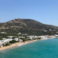 Cyclades : la plage de Platis Yialos à Sifnos