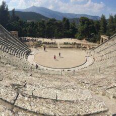theatre d'epidaure grece