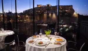 restaurant musée de l'acropole rooftop terrasse