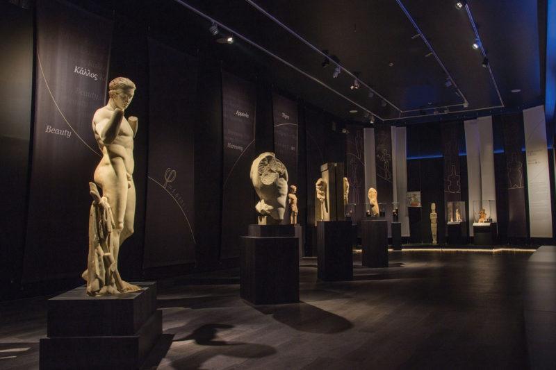 exposition du musée archéologique d' Athènes