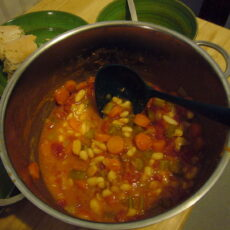 fasolada fassoulada plat national grec soupe de haricots blancs