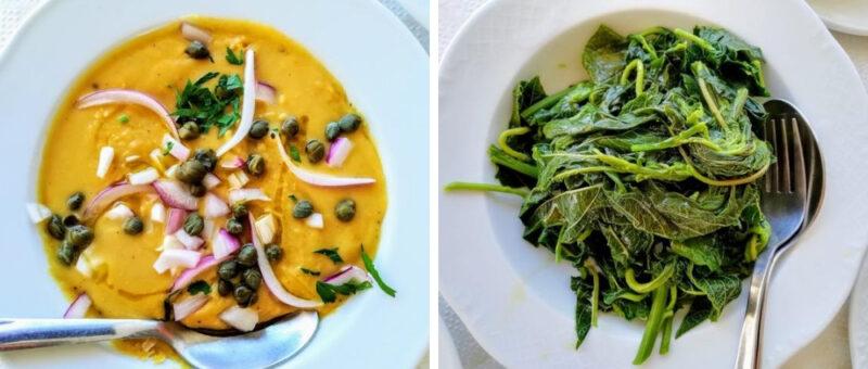 plats sains et equilibres en taverne grecque