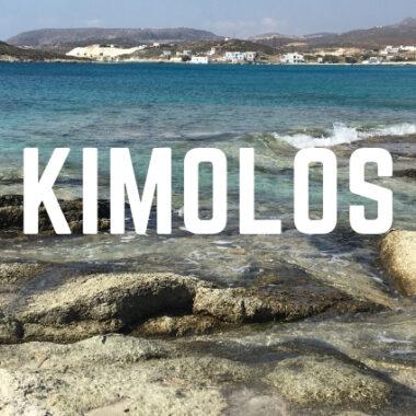 que faire à kimolos, plages, village