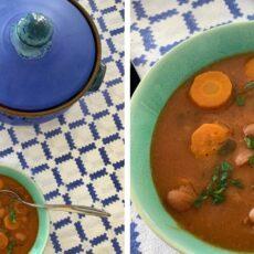 La recette de la fasolada, le plat national grec soupe de haricots