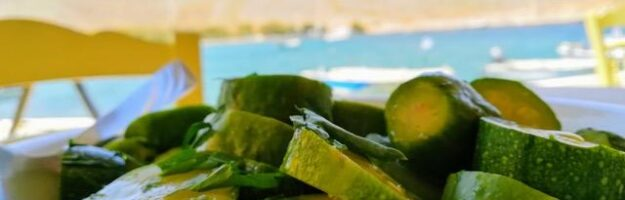Manger sainement et équilibré en Grèce taverne