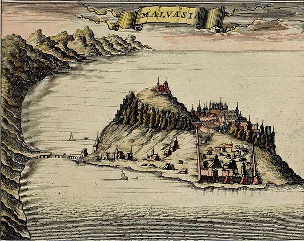 monemvasia cité vénitienne peloponnèse