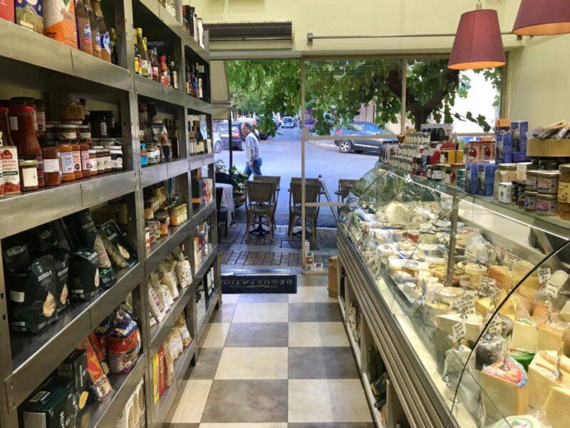 L'épicerie fine Degustation a Kolonaki pour trouver de bons produits francais a Athenes