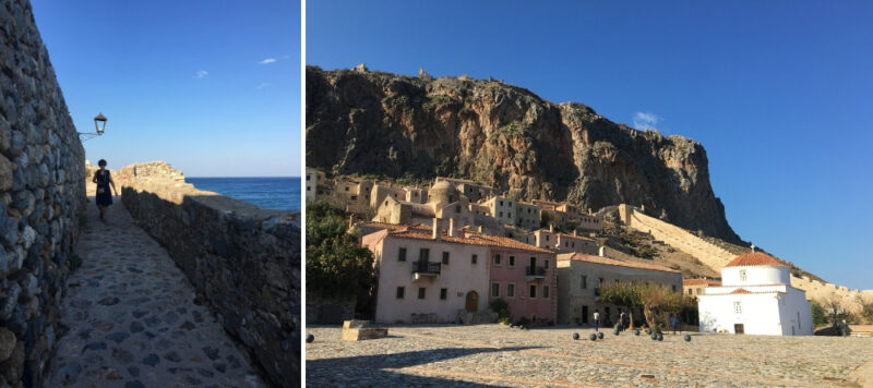 monemvasia remparts