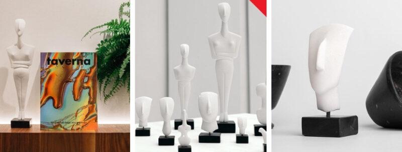 Offrir des cadeaux grecs : des statuettes grecques