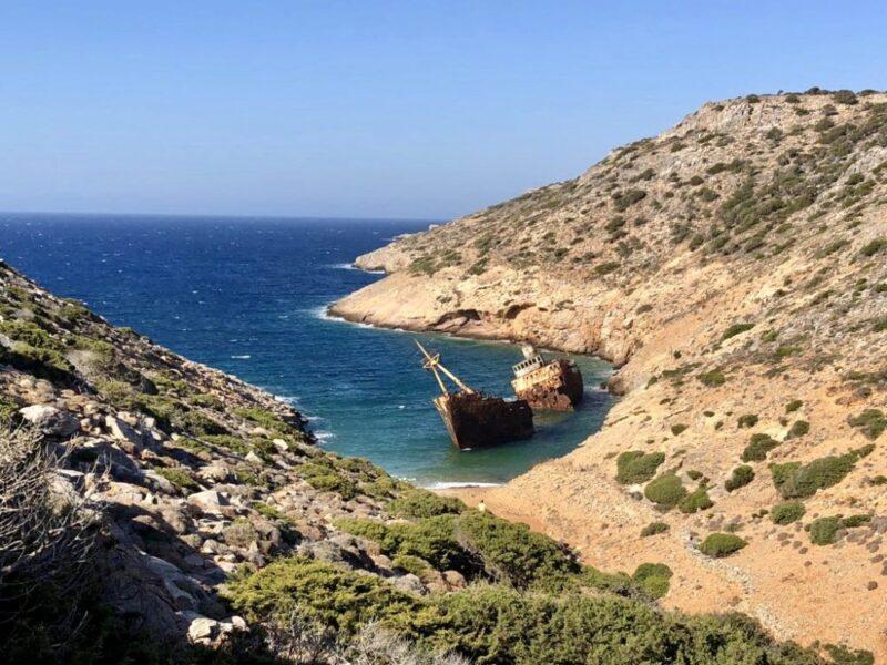 Une ile grecque pas touristique : Amorgos