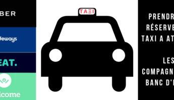 prendre et réserver un taxi à athènes