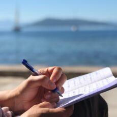 ateliers d' écriture egine santorin amorgos grece ile