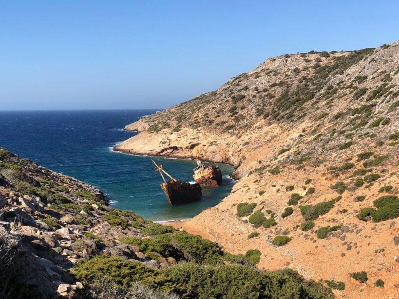 L'épave d' Amorgos Cyclades