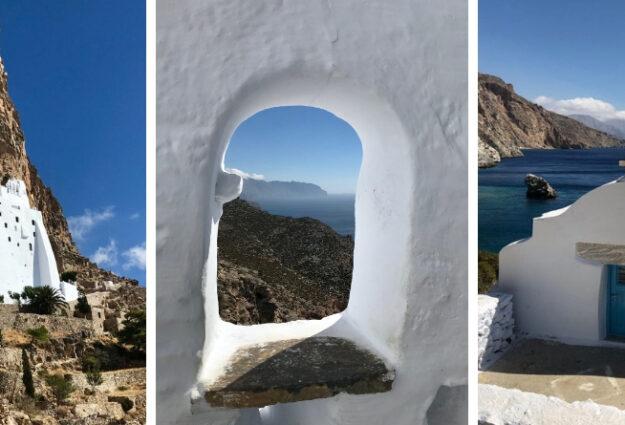 que faire à Amorgos - L'île d'Amorgos dans les cyclades : que faire