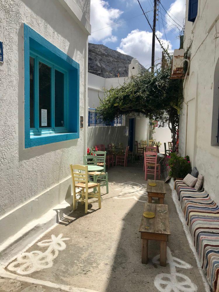 Les villages d'Amorgos, ile grecque dans les cyclades