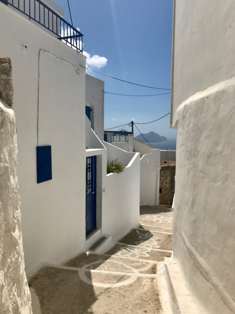 Amorgos, les ruelles d'un village