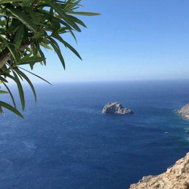 L'île d' Amorgos dans les Cyclades