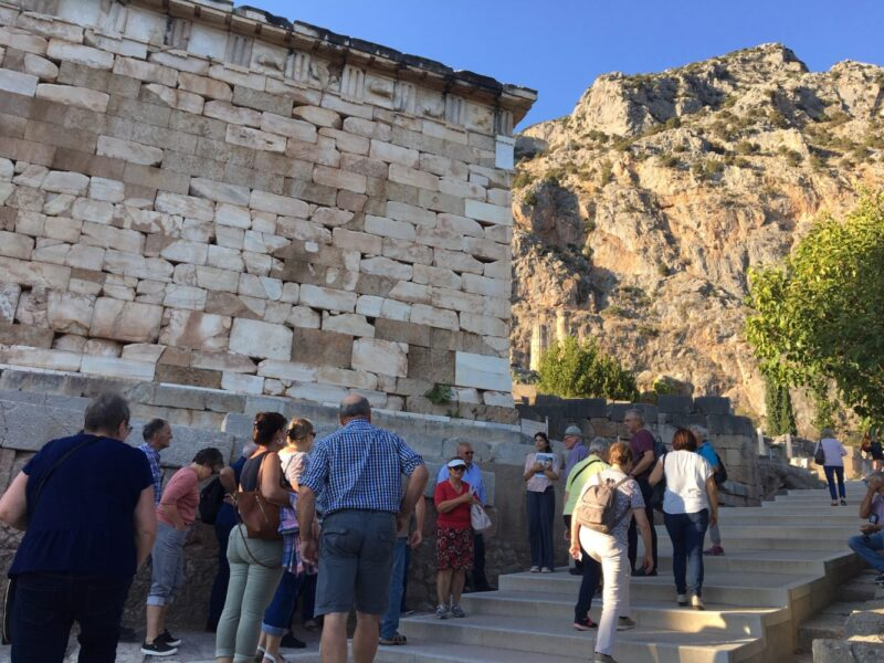 visite guidée de Delphes en groupe