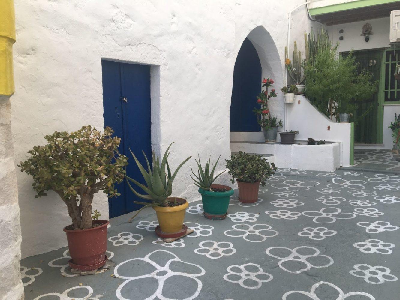Kimolos le village