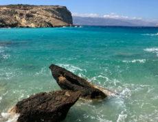 L'île grecque Koufonissia dans les Petites Cyclades