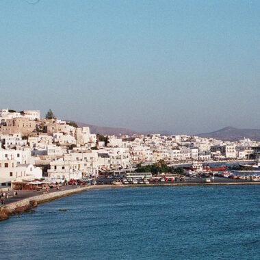 transports à Naxos ferry aeroport vol
