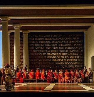simon boccanegra de Verdi opera national d'athènes