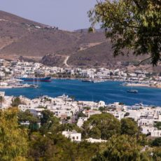 Patmos une île grecque dans le dodécanèse
