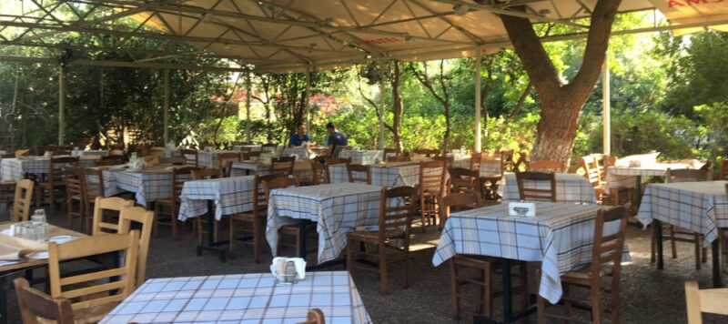 steki tou ilia restaurant avec jardin terrasse thissio athènes