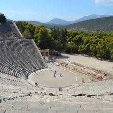 theatre epidaure en grece