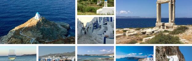 Voyage vacances dans les cyclades : Paros sifnos Kythnos Serifos Milos Kimolos Folegandros Santorin Ios Amorgos Naxos Mykonos Tinos Andros