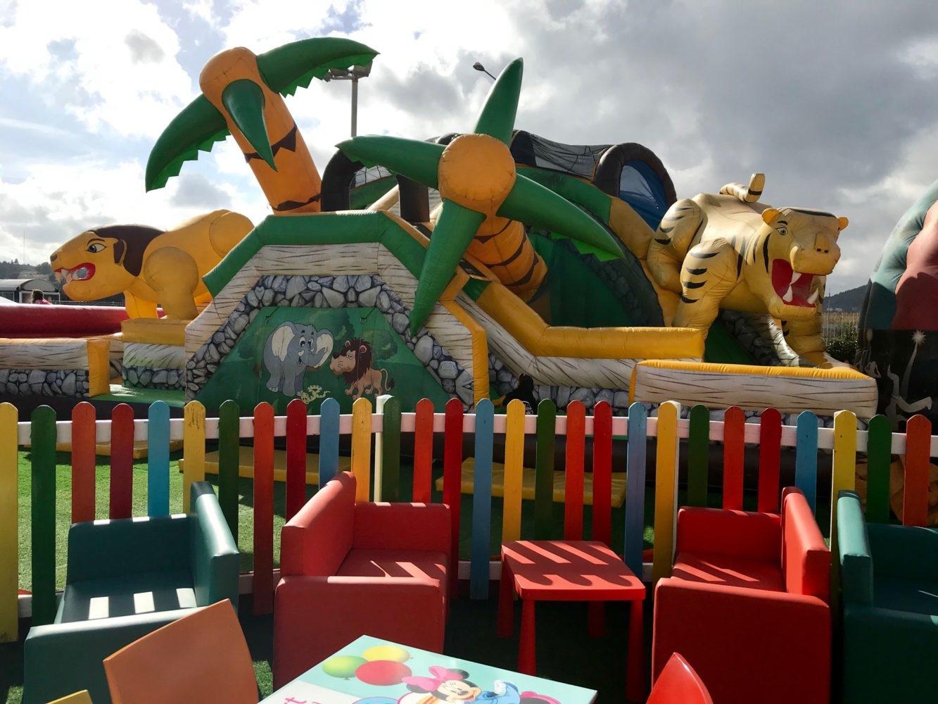 Le smart playland à Spata Athenes pour les enfants