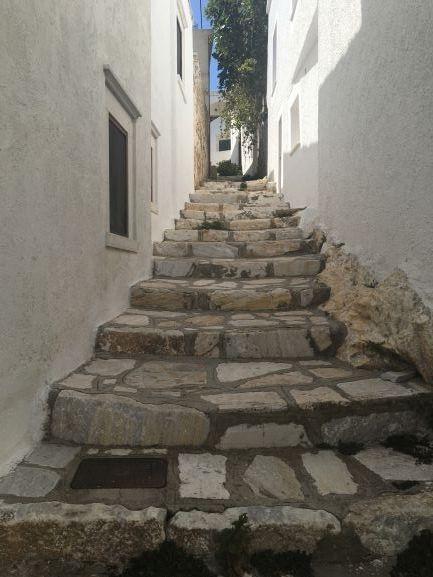Halki, de Filoti et Apiranthos villages de naxos