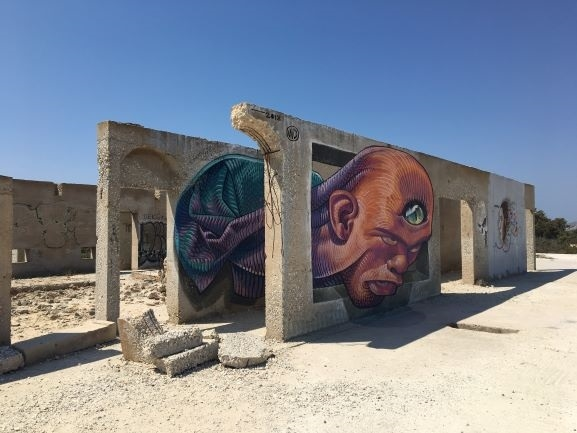 street art naxos