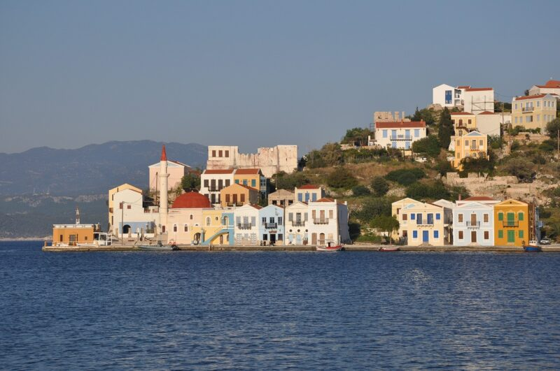 Iles grecques dodécanese kastelorizo