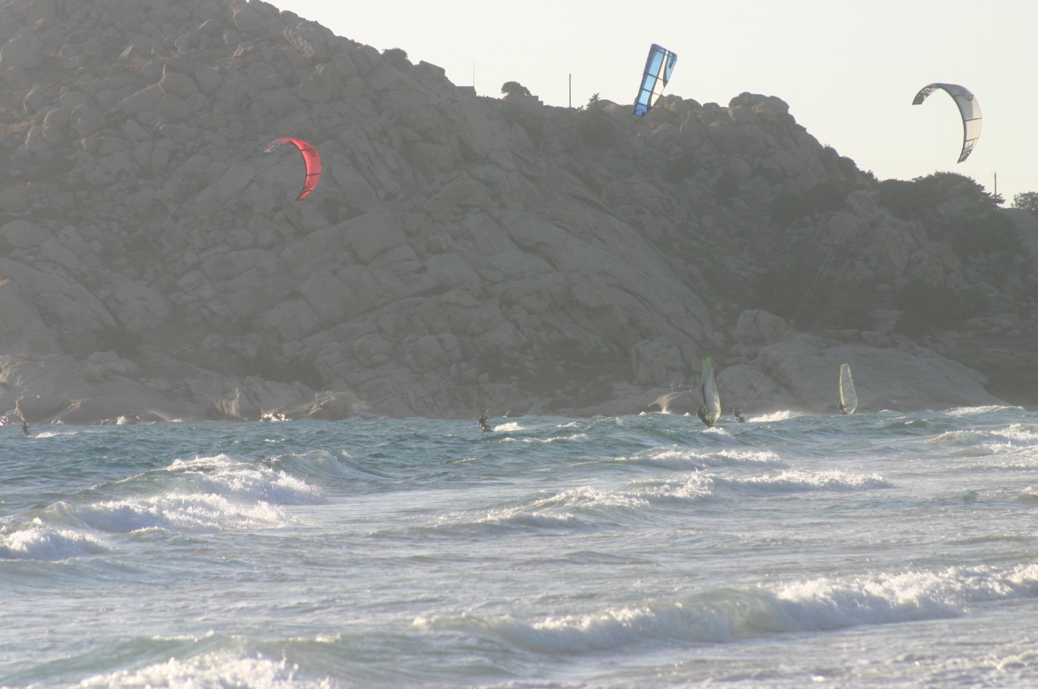 voile, planche à voile, kitesurf à Naxos