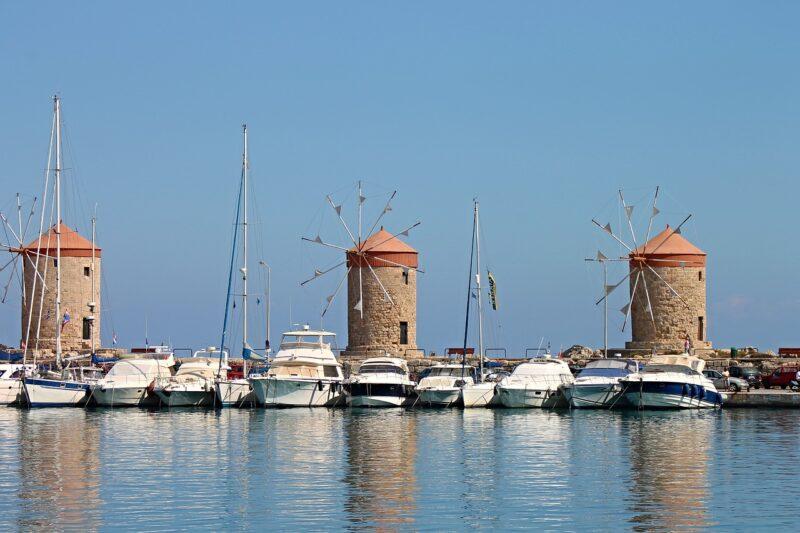 Rhodes ile grecque dodecanese