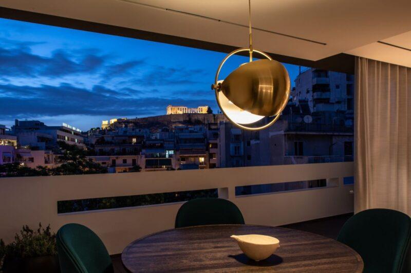 Penthouse Acropole Suite de luxe vue Acropole