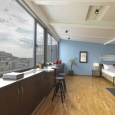 location appart hôtel appartement à Athènes syntagma loft
