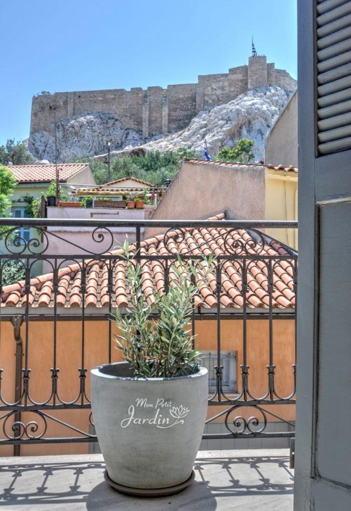 location à Athènes maison dans Plaka hotel de charme