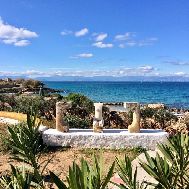 Stages d'éecriture dans les îles grecques