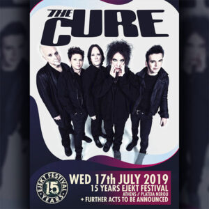 the cure concert athenes juillet 2019