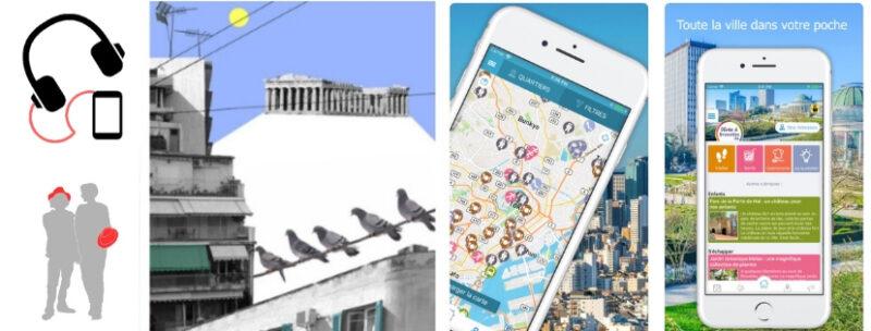 audioguide app vivreathenes athenes grece