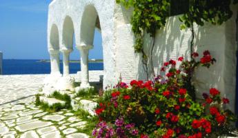 L'île de Paros, dans les Cyclades
