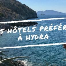 Hotels Hydra - où dormir à hydra