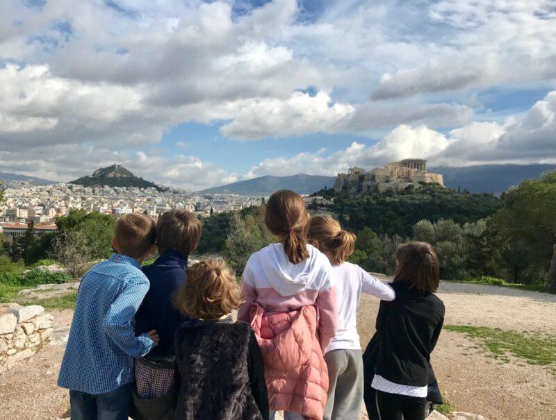 Jeu de piste Athènes pour les enfants