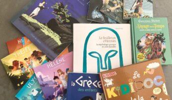 Les meilleurs livres pour enfants sur la Grèce - mythologie enfants