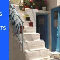 transports à Paros hébergement où dormir à Paros