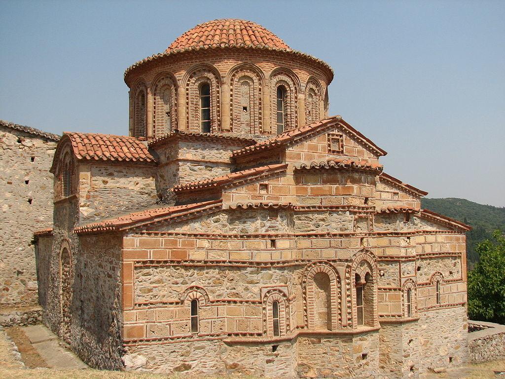 Eglise de Saint Théodore à Mystra Mistra